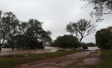 El río Uruguay bajó en toda la costa correntina y hay cierto alivio en las comunas ribereñas