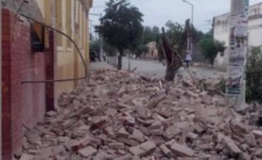 Sismo en Salta provocó derrumbes y hay un muerto
