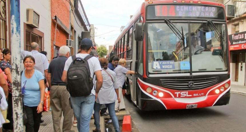 Preocupa a la UTA la quita del subsidio al transporte público