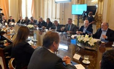 Colombi suscribió el Pacto Fiscal