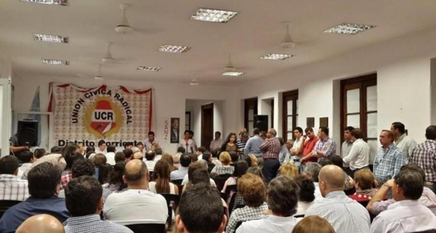 La Juventud Radical debate políticas con Valdés y los funcionarios provinciales