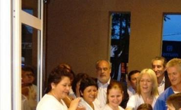 Colombi inauguró obras en el hospital, anunció otras más y una nueva escuela
