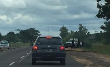 Pobladores cortaron el tránsito en la Ruta Nacional 12 para reclamar por la falta de suministro de electricidad