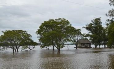 Emiten una alerta por la peligrosidad del desborde del caudal del río Uruguay
