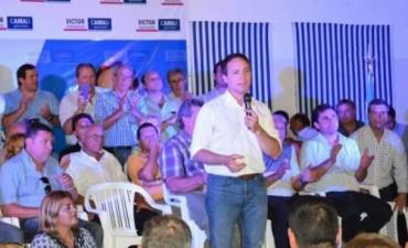 Multitudinario lanzamiento de campaña de Cemborain y Camau