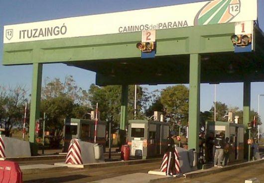 Precios del peaje en Corrientes: los más caros en la región con la suba