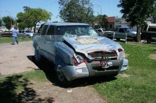 Ebrio al volante atropelló y mató a cuatro jóvenes