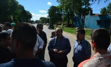 Colombi ratificó que cumplirá con el aumento salarial prometido a policías