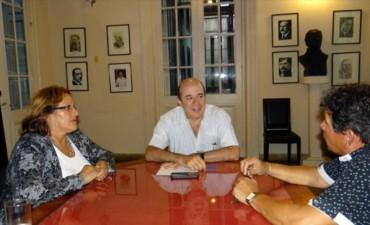 Canteros, a cargo del Ejecutivo, también apuesta al diálogo con los intendentes