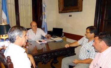 A la espera del Gobernador, Canteros mantiene el diálogo con los municipios