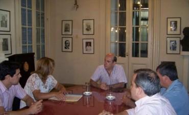 Llega Colombi y Canteros exhibe a razón de balance una recíproca voluntad de diálogo