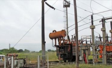 Con la instalación del tercer equipo, volvió a funcionar a pleno la estación transformadora