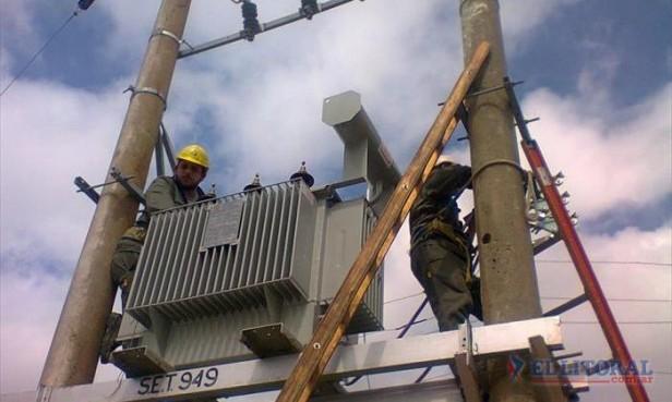 En el primer día del año varios barrios no tuvieron electricidad