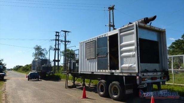 Energía: refuerzan tareas para reponer el servicio en la Costa del Uruguay