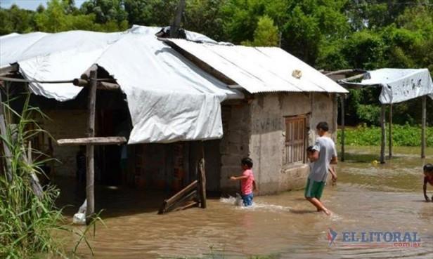 Santa Lucía: los evacuados desbordaron los centros de atención