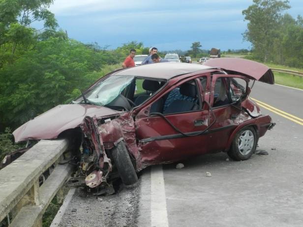 Uno más y van..accidente en ruta 14