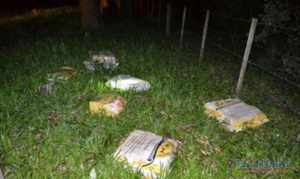 Gendarmería decomisó más de 300 kilos de marihuana y detuvo a seis personas