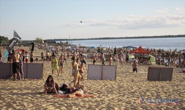 Durante la primera quincena se alojaron más de 350 mil turistas en la provincia