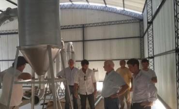 Santa Rosa: primer empresa instalada en parque industrial comenzará a producir