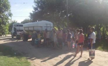 Barrio Laguna Brava: vecinos denuncian que no tienen agua hace dos días