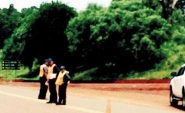 Denuncian que falsos policías piden plata en Ruta 14