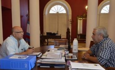 Ríos y Vignolo acordaron avanzar en el sistema de transporte unificado y energía para Santa Catalina