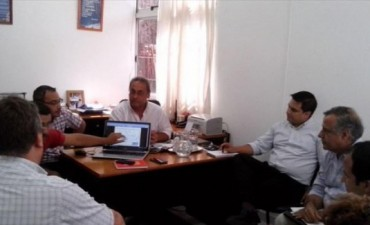 Provincia y Municipio se reunieron para coordinar obras conjuntas