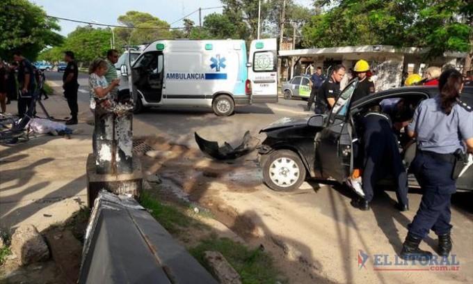 Mueren dos personas en accidentes viales en San Cosme e Ituzaingó