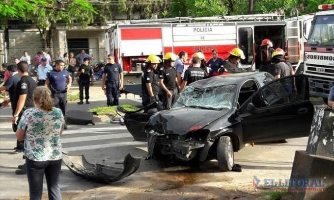 Atropelló y mató a un ciclista en avenida Armenia, los vecinos quisieron lincharlo