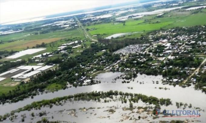 Por el exceso de agua ya registraron daños en campos de 400 productores