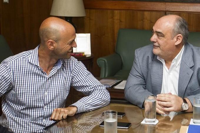 Colombi con un balance optimista de la visita a los ministros de Macri