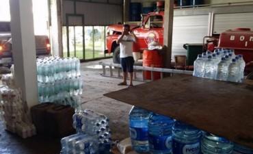 Evacuados de Itatí recibieron donaciones de varias empresas