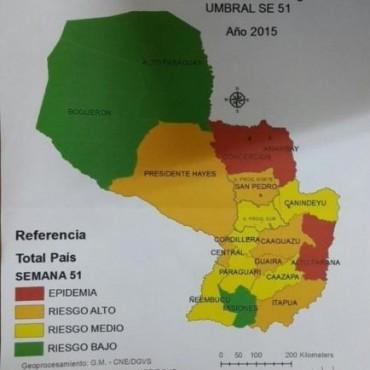 En Paraguay reconocen que es inminente una epidemia nacional de dengue