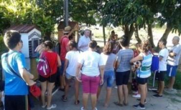 En Itatí, Stanovnik visitó a las familias evacuadas por las inundaciones