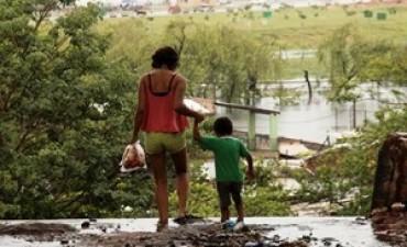 Con unos 7 mil afectados por la creciente se coordinarán acciones con UNICEF
