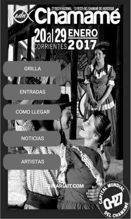 Corrientes vive desde hoy y durante 10 noches la Fiesta Nacional del Chamamé