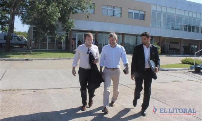 Con la visita del ministro Rogelio Frigerio se larga la campaña electoral