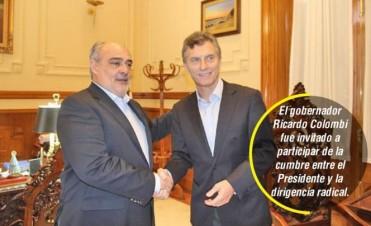 Colombi convocado a la cumbre del radicalismo con el Presidente