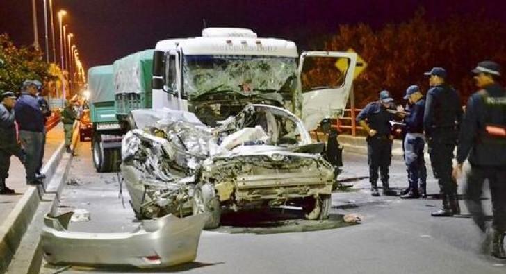 El 2017 cerró con una alta estadística de muertos en siniestros de tránsito