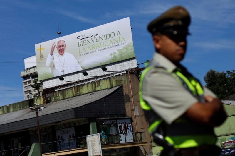 El papa Francisco inicia hoy una visita de tres días a Chile