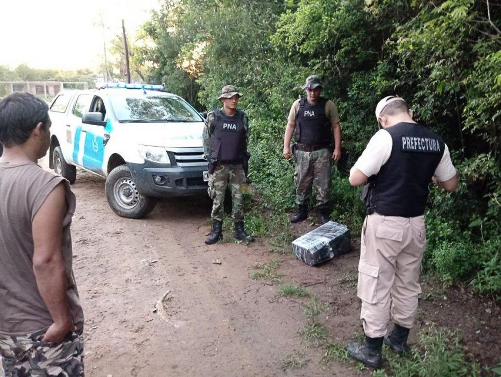 Itatí: confiscan más de 600 kg de droga en 48 horas y en el mismo barrio