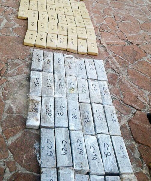 Molina Punta: frustran un contrabando de más de media tonelada de Cannabis