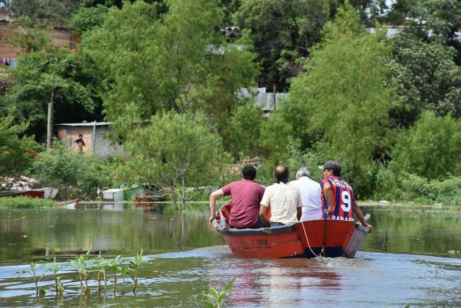 Crece la cantidad de evacuados, ayer se sumaron tres familias