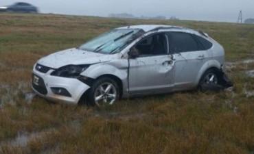 Un hombre murió tras un despiste y vuelco cerca de Ituzaingó