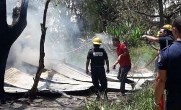 Adolescente adicto prendió fuego su casa tras discutir con su madre