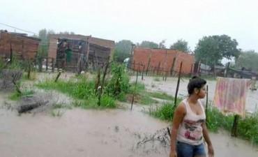 Las intensas precipitaciones afectaron a más de 50 barrios de la Capital correntina
