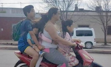 Advierten que no se permitirá la circulación de las motocolectivos.