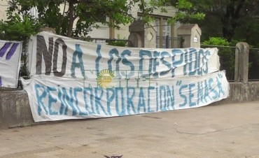Paro de 96 horas en Senasa por despidos de trabajadores