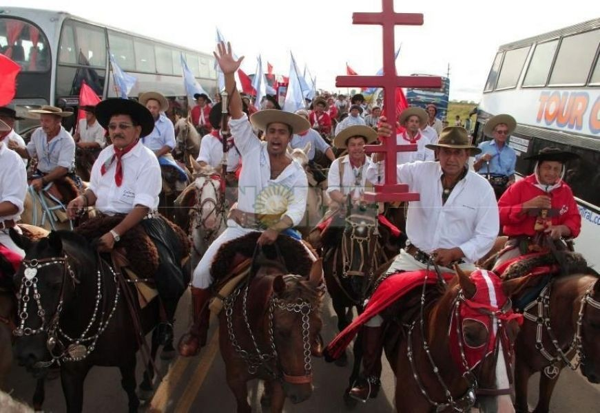 Miles de seguidores están llegando a Mercedes, por el día del Gauchito Gil
