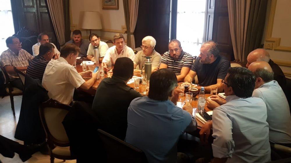 Tras el temporal se reunió el Comité de Emergencia